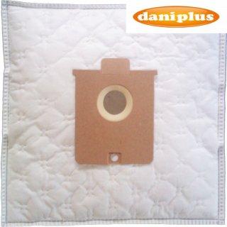 daniplus© 74 / 10 Vlies Staubsaugerbeutel passend für AEG Gr.22 Vampyr 6100 - 6999 ua.