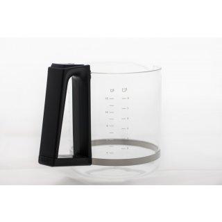 daniplus© Glaskanne, Kaffeekanne, Kanne ohne Deckel passend für SEB Tefal Nr.: MS-623651