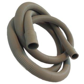 Ablaufschlauch, Schlauch 2,5m Ø 19mm / 22mm für Waschmaschine und Spülmaschine