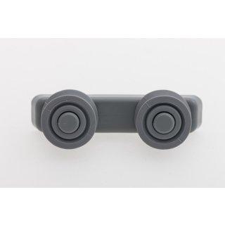 Candy Hoover Korbrolle für Spülmaschine, Geschirrspüler - Nr.: 49017784