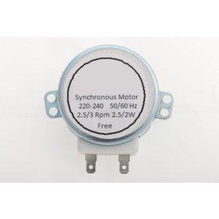 daniplus© Drehtellermotor für Mikrowelle 220-240V, 2,5/3 rpm, Motor Drehteller