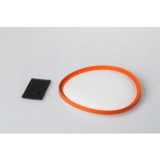 daniplus© Filterset, Vormotorfilter, Motorschutzfilter passend für Dirt Devil Centec 2, M2288 - Nr.: 2288002