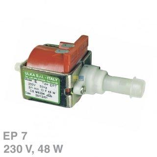 Elektropumpe, Wasserpumpe, Pumpe Ulka EP7, 230V, 48 Watt, 7 bar für Kaffeeautomat