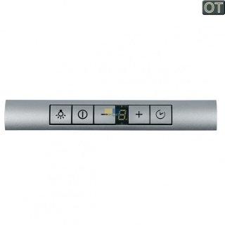 Bosch Siemens Bedieneinheit Bedienblende silber Dunstabzugshaube Nr.: 646886