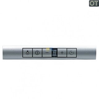 Bosch Siemens Bedieneinheit Bedienblende Bedienmodul silber Dunstabzugshaube Nr.: 498326