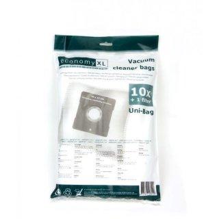 20 Staubsaugerbeutel De Sina BSS 1400 Space Max-Mobil Filtertüten silber