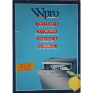 Whirlpool DUFTSPENDER ZITRONE - beseitigt Spülgerüche in der Spülmaschine