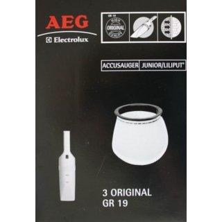 AEG Electrolux Handstaubsaugerbeutel Gr. 19 für Junior Liliput