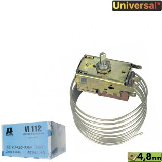 Ranco Thermostat für Kühlschränke Typ:  VI 112, K59H2805 Servicekühlthermostat, für **/***Kühlschränke