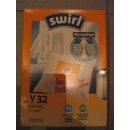 Swirl Staubsaugerbeutel Y32 / Y 32 für LG Goldstar Crystal  -AUSLAUF-