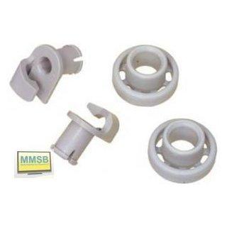 Korbrolle Geschirrspüler Ersatz für Siemens Bosch OBEN Nr. 424717, ersetzt 066321