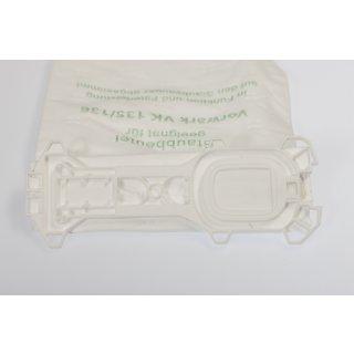 daniclean© 12 Vlies Staubsaugerbeutel passend für Vorwerk Kobold VK135 VK136 VK 135 VK 136