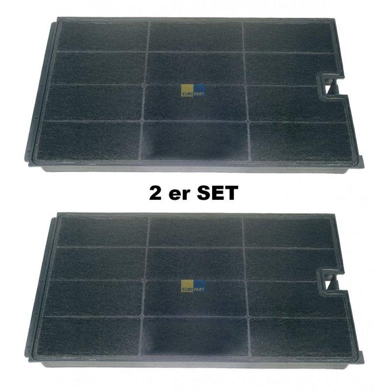 2x aktiv kohlefilter 270x160mm f r wpro bauknecht. Black Bedroom Furniture Sets. Home Design Ideas