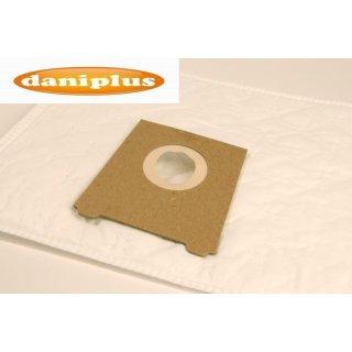 daniplus© 48 / 10 Vlies Staubsaugerbeutel passend für Bosch / Siemens Typ: D E F
