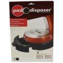 Philips Senseo Pad-Disposer für Senseo 2. Generation HD7810 HD7812 - schwarz