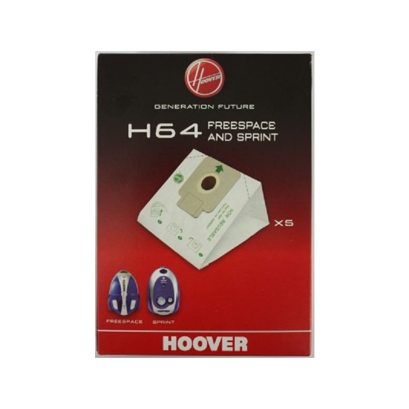 Hoover Original Staubsaugerbeutel H64 Freespace und Sprint Nr.: 35600637