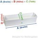 BSH Bosch Siemens Constructa Abstellfach, Ablage, Fach, Türfach für Kühlschrank - Nr.: 665519