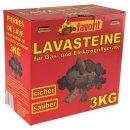 Favorit 3 Kg. Lavasteine für Gasgrill, Elektrogrill,...
