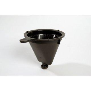 Philips Ersatz Kaffeefilter Filter mit Tropfstop für Gourmet HD5400 HD5405 - schwarz