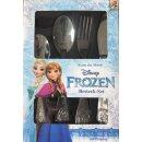 Kinderbesteck, Besteckset Disney Frozen für Kinder,...