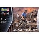 Revell Modellbausatz Figuren Anzac Infanterie 1915 ,...