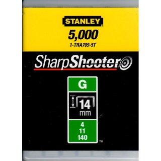 für 6-CT-10 Stanley 1-CT109T  Kabelklammern CT100  14 mm  1000 St