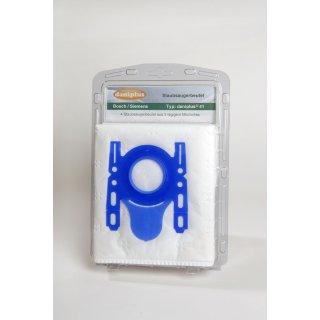 daniplus© 41 / 4 Vlies Staubsaugerbeutel passend für Bosch / Siemens Typ: D-E-F-G