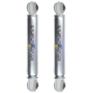 2x daniplus© Stoßdämpfer SUSPA 125N für Waschmaschine passend Whirlpool Bauknecht 481246648001