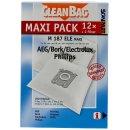12 CleanBag Staubsaugerbeutel M187ELE für Electrolux...