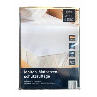 Setex Molton-Matratzen-Schutzauflage 100x200 / 95x195cm Matratzenschoner Matratzenschutz