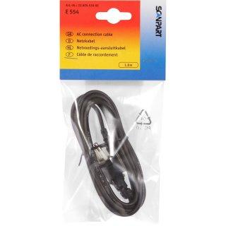 Scanpart Euro Netzkabel E554 1.8 m, Nr. 2380553060