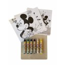 Disney Mickey Mouse Posterbox 22 teilig, Wachsmalstifte,...