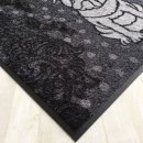 Waschbare Fußmatte - Mops silber  50x75 cm -...