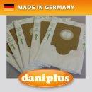 daniplus® 120 / 5 Vlies Staubsaugerbeutel HyperfiltPlus© passend für EIO Nr. 9/14/26