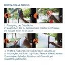 Statische Fensterfolie - Dekorfolie JOY static - Streifen...