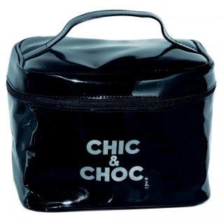 Kulturtasche - Schminkkoffer Chic & Choc schwarz