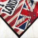 Waschbare Fußmatte - I love London ca 50x75 cm -...