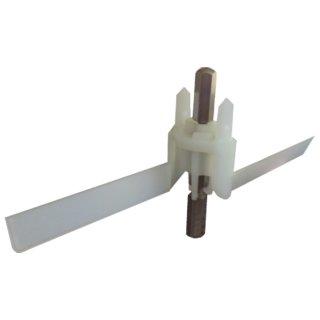 Bosch Durchlaufschnitzlerflüger (Scheibenträger, Mitnehmer) für MUM4... Küchenmaschine MUZ4DS2  - Nr. 091027