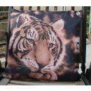 Gartenkissen - Outdoor Kissen - Tiger - ca 45 x 45 cm