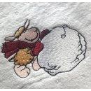 Handtuch Set mit Schaf - Handtuch Gästetuch...