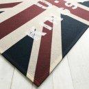 Waschbare Fußmatte - Union Jack - England ca 50x75 cm