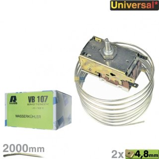 Thermostat K50H1107 VB107 Ranco, Servicethermostat, zur Wasserkühlung