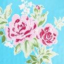 Klebefolie - Möbelfolie - Rosy blau - Rosen - 45 x...