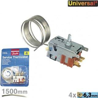 Danfoss Service Thermostat Nr. 4 077B7004  mit Zubehör, für Absorberkühlgeräte mit Hilfskontakt