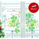 XMAS Fenster Sticker Weihnachten - Eibe - statisch...