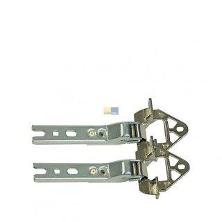 2 Tür-Scharniere Einbau für Kühlschrank Bosch Siemens Neff Conctructa Nr.: 268698 Original
