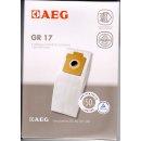 AEG Electrolux 5 Staubsaugerbeutel Gr. 17 + 1 Motorfilter...