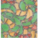 Fensterfolie Reims Adhesive - Klebefilm Bleiglas Look...