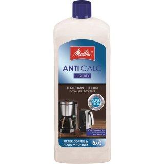 Melitta Entkalker 250ml, Flüssigentkalker für Filtermaschinen, Anti Calc