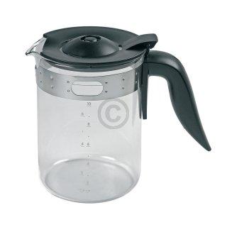 Melitta Ersatz-Kanne, Glaskanne, Kaffeekanne Typ 100, schwarz für Linea Unica M808